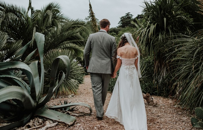 Ventnor Botanic Gardens Wedding